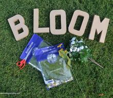 diy bloom moss decor, crafts, how to