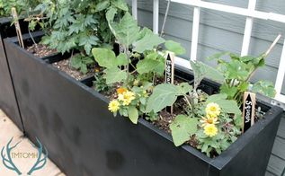 upcycled file cabinet planters, container gardening, gardening, outdoor living, repurposing upcycling