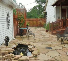From Pond To Disappearing Water Feature, How To, Outdoor Living, Patio,  Ponds