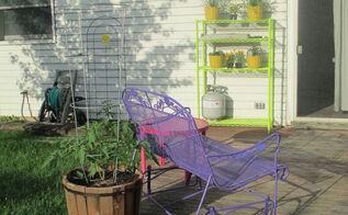 deck makeover, decks, outdoor furniture, outdoor living, painted furniture