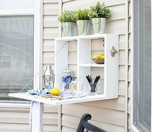 diy outdoor serving station, diy, how to, outdoor furniture, outdoor living, painted furniture, woodworking projects