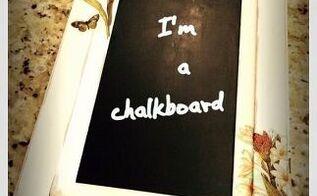 chalkboard cabinet door, chalkboard paint, crafts, decoupage, doors, kitchen cabinets, kitchen design