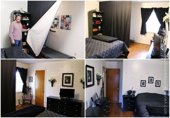 How To Make A Treadmill Nook In A Small Home Hometalk - Small treadmill for home