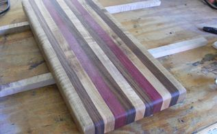 how to make a wooden cutting board, diy, how to, kitchen design, woodworking projects