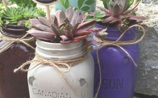 The Perfect Handmade Gift....a Strawberry Pot Succulent ...