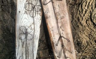 easy rustic signs, crafts, how to, outdoor living, repurposing upcycling, Rustic DIY Signs