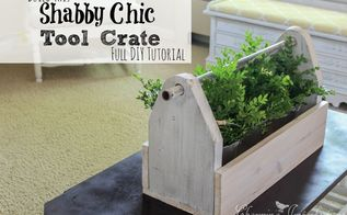 diy rustic tool crate, how to, storage ideas, tools, woodworking projects