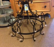 q repurposing a chandelier for wedding decor, lighting, repurposing upcycling, wall decor