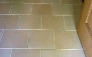 diy renew your grout without a doubt, cleaning tips, tiling, Our Finished Grout Doesn t it look amazing