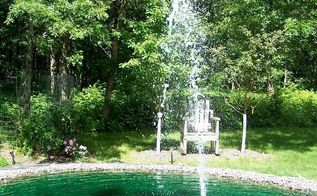garden reflecting pond, ponds water features