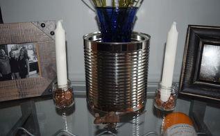 diy penny candle decor, crafts, mason jars, repurposing upcycling