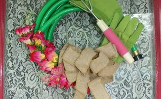 10 minute garden hose wreath, crafts, repurposing upcycling, wreaths