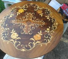 q how to fix a table top, home maintenance repairs, how to, painted furniture
