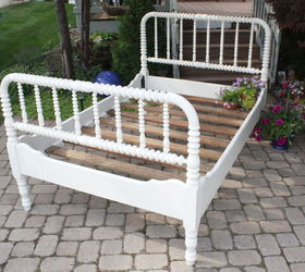 antique jenny lind spool bed to gardening decor chalk paint container gardening gardening - Jenny Lind Bed