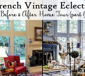 French Vintage Eclectic Living Room, Living Room Ideas
