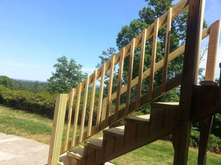 how to repair your deck railing and stairs decks diy home