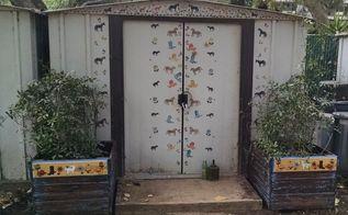 pallet planter boxes, container gardening, gardening, pallet, repurposing upcycling