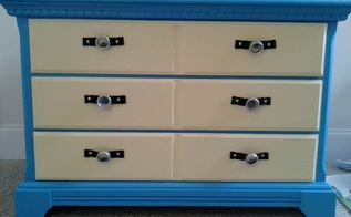 minions themed painted dresser, painted furniture