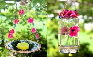 some diy ideas of how to attract butterflies to your garden, gardening, how to, pets animals