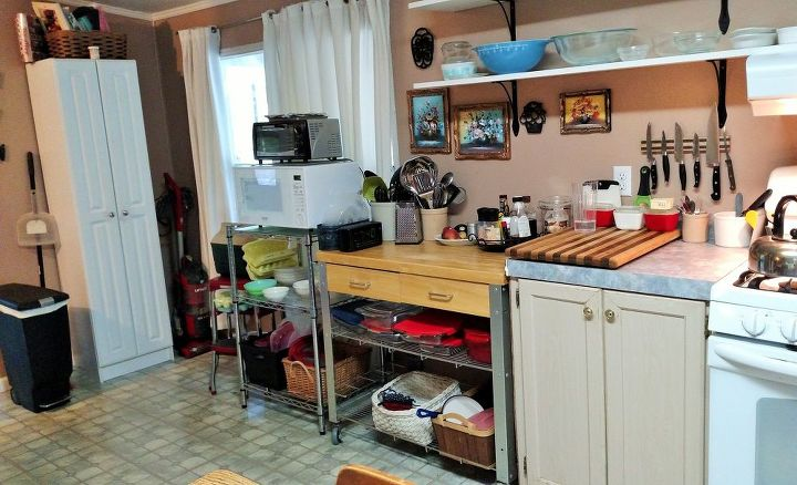 DIY Kitchen Cabinet And Counter Install Hometalk