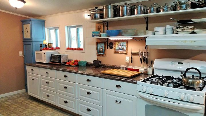 DIY Kitchen Cabinet and Counter install | Hometalk