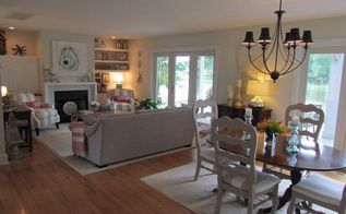 family room and dining room makeover, dining room ideas, home improvement, living room ideas