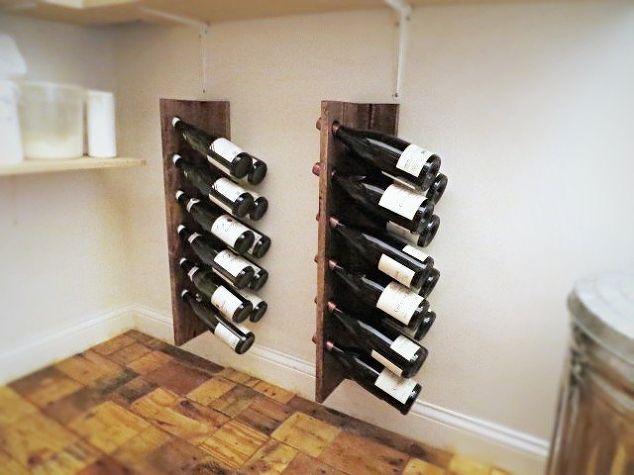Quick Easy Inexpensive Diy Wine Racks Hometalk