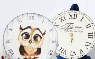 how to make small clocks from dvd cds, crafts, decoupage, how to, repurposing upcycling