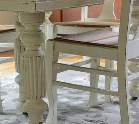 Chalk Paint Grandma S Antique Dining Table And Chairs, Chalk Paint, Painted  Furniture,