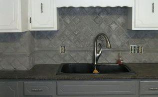 dramatic concrete kitchen update, concrete masonry, countertops, kitchen cabinets, kitchen design