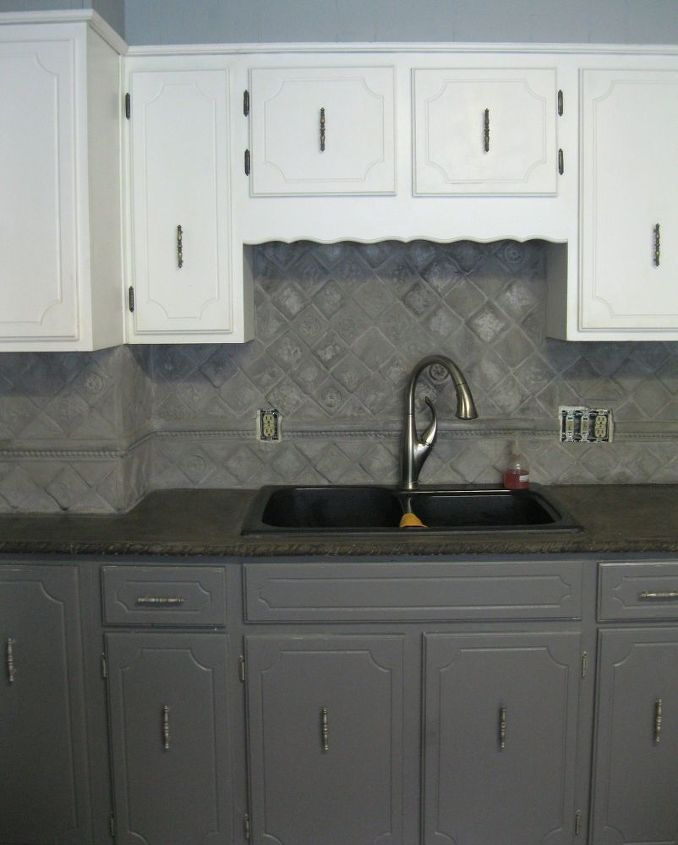 Upgrade Your Countertops And Cabinets This Spring: Dramatic Concrete Kitchen Update