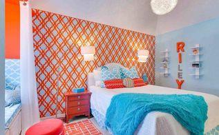 stenciled room ideas featuring the tamara trellis stencil, painting, wall decor