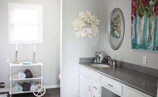 beautiful master bathroom update, bathroom ideas, countertops, paint colors, painting