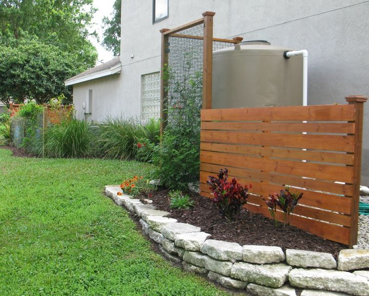 Landscaping Ideas To Hide Pool Equipment landscaping ideas to hide pool equipment Rainwater Harvesting System Container Gardening Gardening Go Green Raised Garden Beds