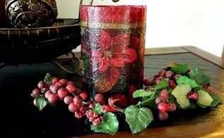 how to repurpose paper napkins, crafts, decoupage, repurposing upcycling, Project via Robin Redo It Yourself Inspirations