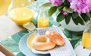 breakfast room makeover reveal, dining room ideas, lighting, painted furniture