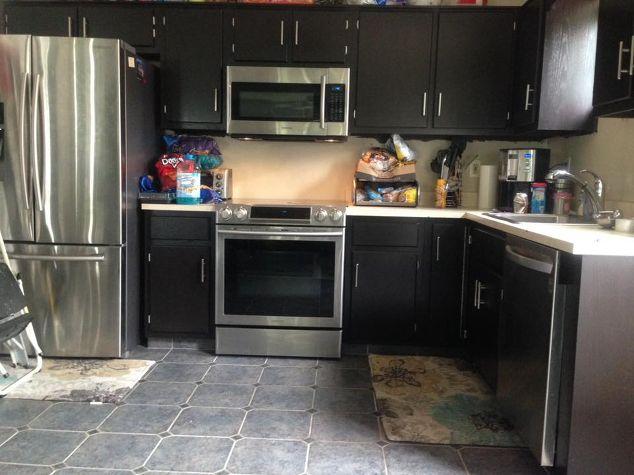Laminate Kitchen Cabinet Makeover Kitchen Cabinets Kitchen Design After Fab