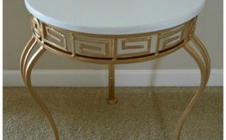 chic accent table, painted furniture
