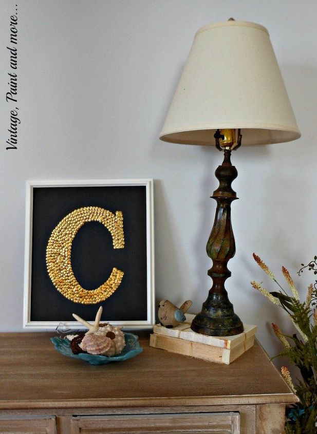 Monogram Wall Decor Diy : Diy monogram wall art hometalk