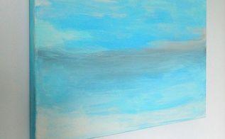 diy canvas wall art, crafts, wall decor
