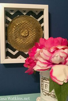 diy doily medallion from upcycled doily and paper plate, crafts, how to, repurposing upcycling, wall decor