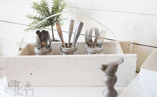 diy wooden caddy with galvanized metal handle, crafts, how to, pallet, repurposing upcycling, woodworking projects