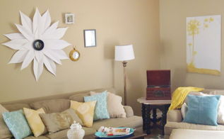 diy sunburst mirror, home decor, how to, wall decor