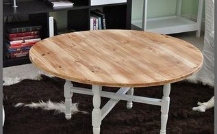 a coffee table update rustic style, painted furniture, repurposing upcycling, rustic furniture
