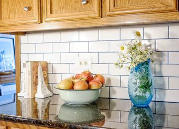 How To Instal Subway Backsplash In Kitchen With Tile