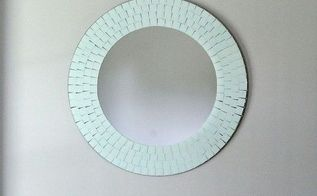 chalk paint mirror update, chalk paint, home decor, painted furniture, wall decor