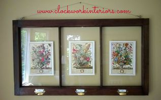decorating with old windows quick and easy wall decor, how to, repurposing upcycling, wall decor, windows