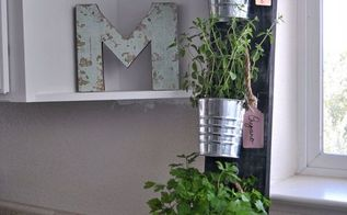 Simple Kitchen Herb Garden hanging kitchen herb garden | hometalk