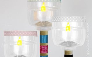 diy outside lighting soda bottle torch, crafts, how to, lighting, outdoor living, repurposing upcycling