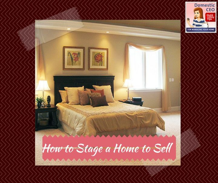 How to stage a home to sell hometalk for How to stage a house for selling